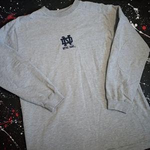Notre Dame vintage Fighting Irish football sweater